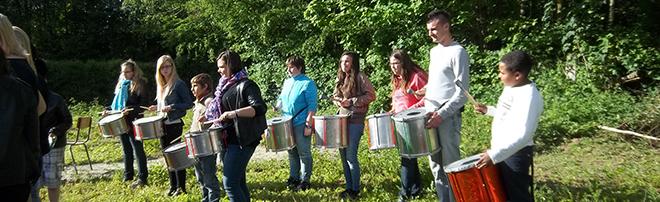 projet jeunesse- atelier percussion brésilienne