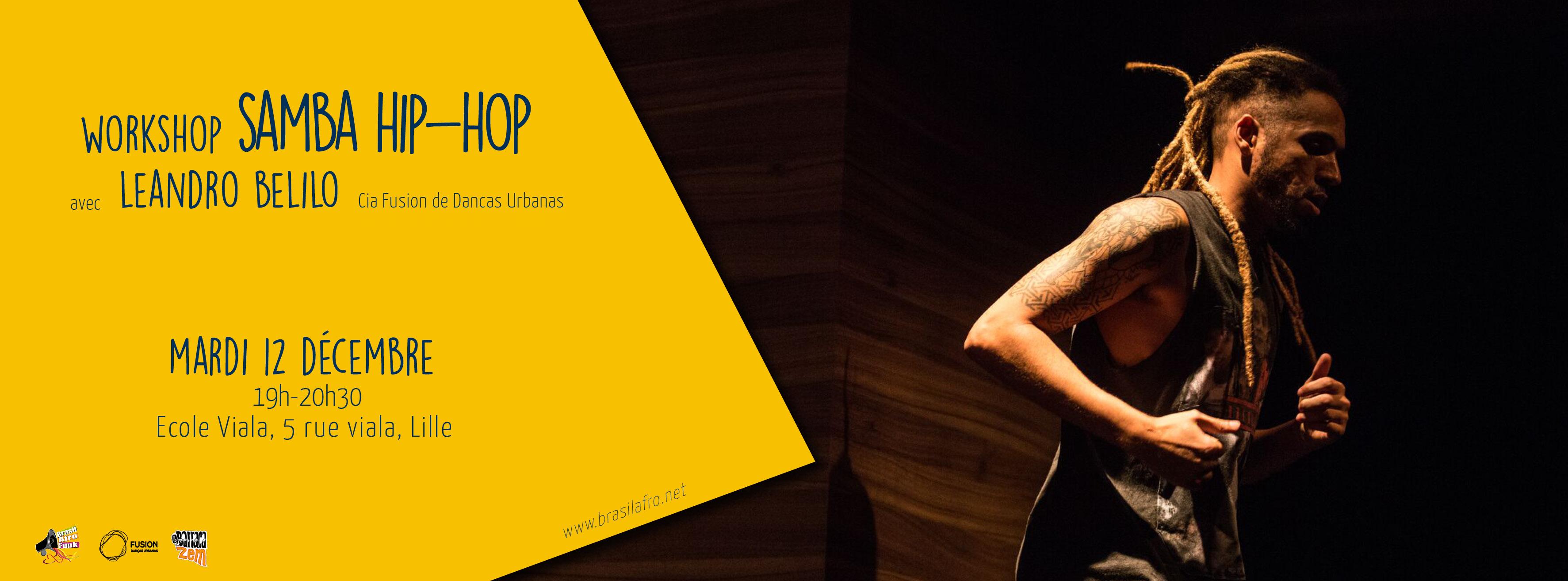 workshop hip hop Leandro Belilo