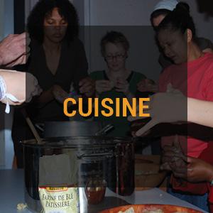 stage cuisine