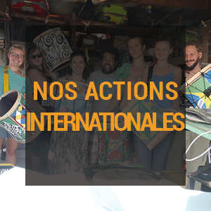 Nos actions internationales