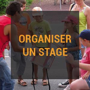 Organiser un stage